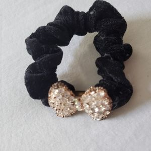 ($5 Add-on) HAIR-TIE WITH JEWEL BOW